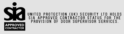SIA Approved Contractor Door Supervisors